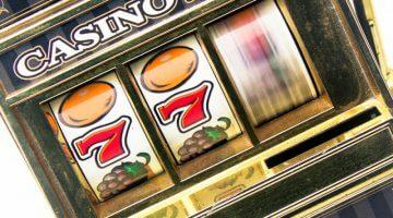 spilleautomat med hjul som spinner