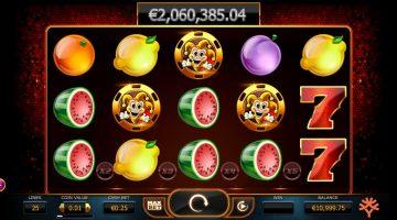 Den gavmilde jokeren på spilleautomaten Joker Millions