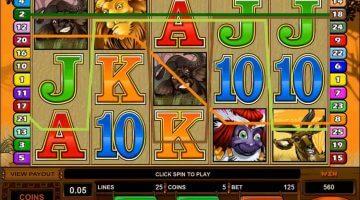 mest populære spilleautomater