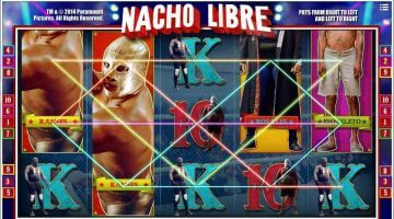 Nacho Libre - en unik spilleautomat basert på kultfilmen