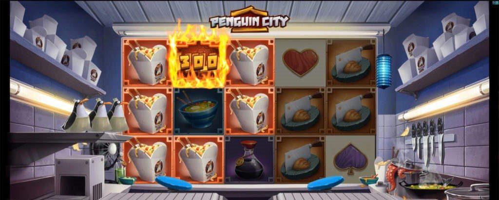 Penguin City - flykt fra keiserpingvinen og vinn stort