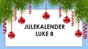 Betsson julekalender – luke 8